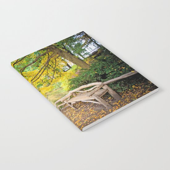 Autumn Bench Meadow by ane4ka
