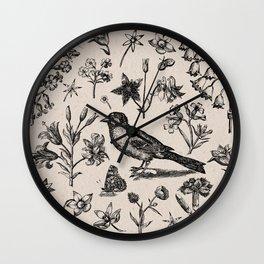 The Natural World Wall Clock