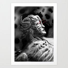 Regenerating Tyrant Art Print