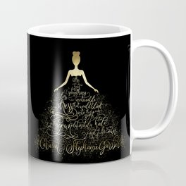 Scarlett's Enchanted Dress. Caraval Coffee Mug