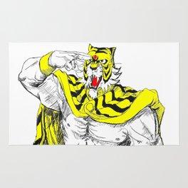 Tiger Mask II 1 Rug