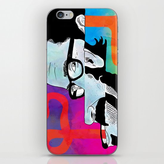 """""""Thinky Pain"""" by Steven Fiche iPhone & iPod Skin"""