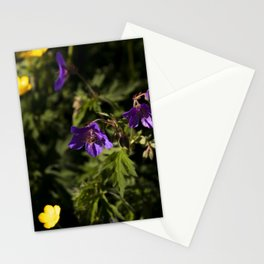 Hungry Bee in the Queen Elizabeth Park's Rose Garden Stationery Cards