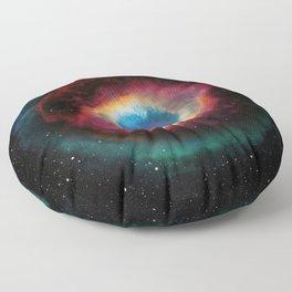Helix (Eye of God) Nebula Floor Pillow