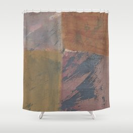 2017 Composition No. 22 Shower Curtain