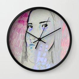 Forest Slumber Wall Clock