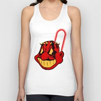 cleveland Tank Tops featuring Cleveland Sithians by Ant Atomic