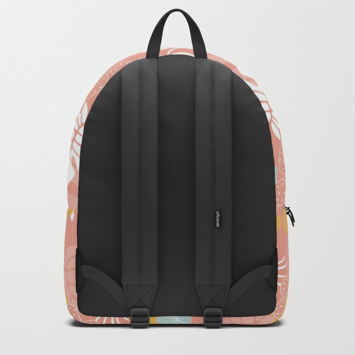 Tropical pattern 057 Backpack