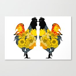 Year of the Fire Rooster Vol.2 Canvas Print