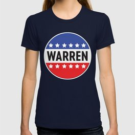 Elizabeth Warren Stars and Stripes T-shirt