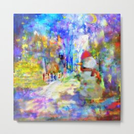 Be Happy in New 2016 Year ! Metal Print