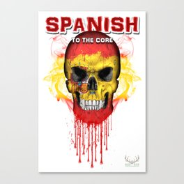 To The Core Collection: Spain Canvas Print