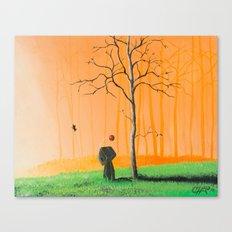 I remember us Canvas Print