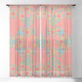 """""""Aurora"""" series #6 Sheer Curtain"""