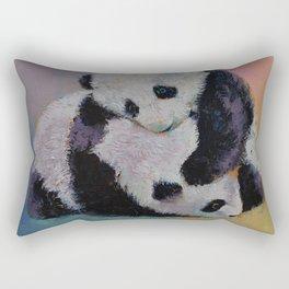 Baby Panda Rumble Rectangular Pillow