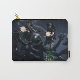 """""""SURROUNDED"""" Carry-All Pouch"""