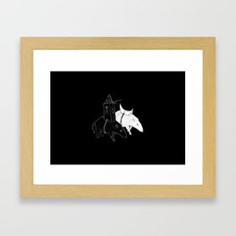 Celestial Walkers Framed Art Print
