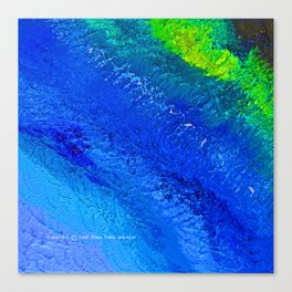 """""""Riptide #4"""" Oil Painting Canvas Print"""