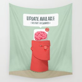 Update your Brain Wall Tapestry