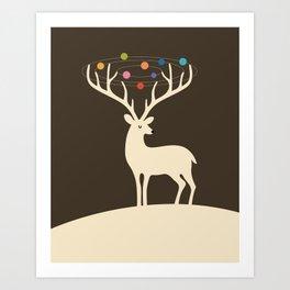My Deer Universe Art Print