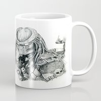 predator Mugs featuring Predator. by Gary Barling