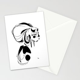 Every second is a handful of dirt - Emilie Record Stationery Cards