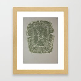 Container Revisited III Framed Art Print