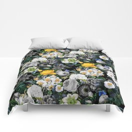 Night Forest V Comforters