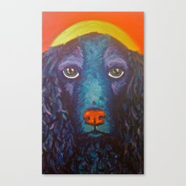 Enlightened Dog Canvas Print
