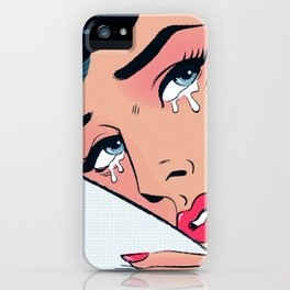 These Tears Aren't For You iPhone Case