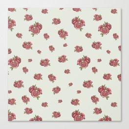 Pomegranates surface pattern - hand drawn Canvas Print