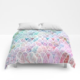 DAZZLING MERMAID SCALES Comforters