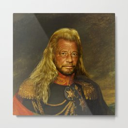 Duane 'Dog' Chapman - replaceface Metal Print