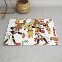 mayan aztec inca mexican culture Rug