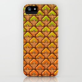 Pineapple Mania Texture iPhone Case