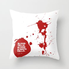 Dexter no.2 Throw Pillow
