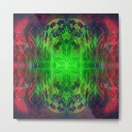 Nebular Symulation Metal Print
