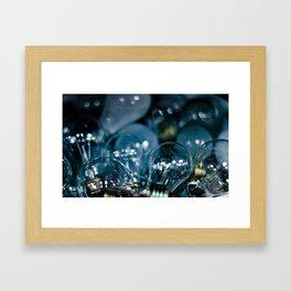 Magically Incandescent Framed Art Print