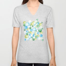 CIRCLE SPLASH Unisex V-Neck