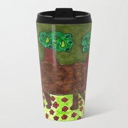 Forest of the Wisdom Metal Travel Mug
