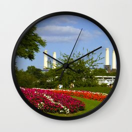 Battersea Power Station and Battersea Park Wall Clock