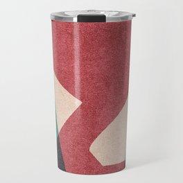 ABSTRACT ALPHABET / Gothic Y Travel Mug