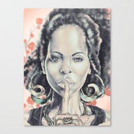 Unspoken Canvas Print