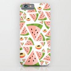 watermelon/peach love iPhone 6s Slim Case