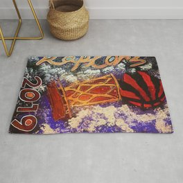 raptors 1,champion,basketball,gold,poster,wall art,2019,winners,NBA,finals,toronto,canada,painting Rug