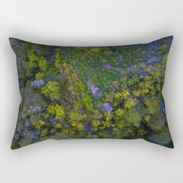 berlins mountain vertical capture into woods in new zealand Rectangular Pillow