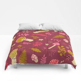 Fungi Friends Comforters