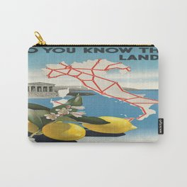 Vintage poster - Italy Carry-All Pouch