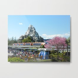 Tomorrowland Matterhorn Metal Print