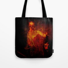 The avenger of the darkness Tote Bag